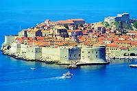 Croatia's beautiful natural and historical landmarks, in the Balkans region.