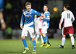 St Johnstone v Rangers…28.12.16     McDiarmid Park    SPFL<br />David Wotherspoon<br />Picture by Graeme Hart.<br />Copyright Perthshire Picture Agency<br />Tel: 01738 623350  Mobile: 07990 594431