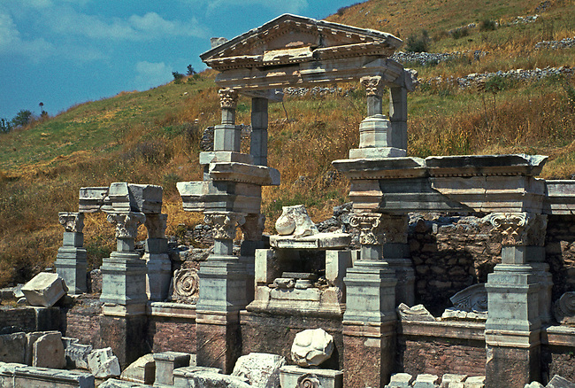 Ephesus; Trajan's Fountain