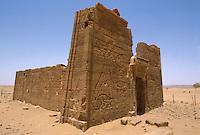- northern Sudan , Meroitic civilization , temples of Naga , Apedemak temple....- Sudan settentrionale, civiltà Meroitica, templi di Naga, tempio di Apedemak