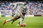 Alvaro Morata of Real Madrid in action during their La Liga match at the Santiago Bernabeu Stadium between Real Madrid and RC Celta de Vigo on 27 August 2016 in Madrid, Spain. Photo by Diego Gonzalez Souto / Power Sport Images