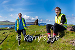 Dr. Linda Shine (Outreach officer Discovery Programme) and lead archaeologist Sandra Henry.