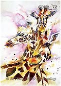 Simon, REALISTIC ANIMALS, REALISTISCHE TIERE, ANIMALES REALISTICOS, paintings+++++LizC_TheThreeSisters,GBWR72,#a#, EVERYDAY