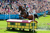 GBR-Zara Phillips (HIGH KINGDOM) 2012 LONDON OLYMPICS (Monday 30 July 2012) EVENTING CROSS COUNTRY: INTERIM-=10TH