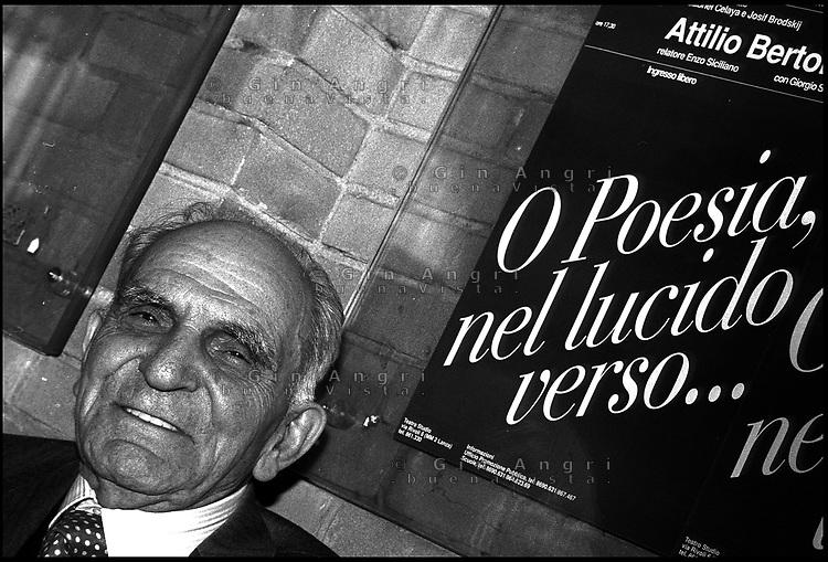 Attilio Bertolucci poeta