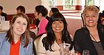 HISD Board Trustees Holly Maria Flynn Vilaseca and Diana Davila with HCC Trustee Carolyn Evans-Shabazz.
