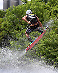 September 13, 2014:  Scenes from the WWA Wakeboard World Championships at Mills Pond Park in Fort Lauderdale, FL.  Men's  Professional Wakeboarder Pierce Homsey USA. Liz Lamont/ESW/CSM