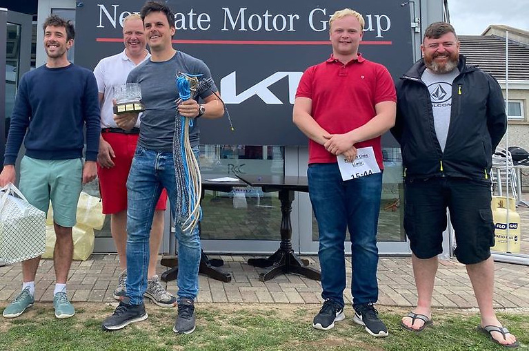 RS400. winners - Robert Espey & Richard McCullough