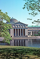 Chicago: Museum of Science & Industry, 1929-1940. *Original design--Palace of Fine Arts, 1893. Charles B. Atwood of D. H. Burnham. Photo '77.