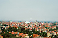 Vicenza:  View of City from a hill to the south.  Photo '83.