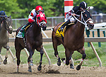 May 16, 2015: Sandbard (#5) with Joel Rosario up win the Maryland Sprint Handicap at Pimlico Race Course in Baltimore, Maryland. Zoe Metz/ESW/CSM