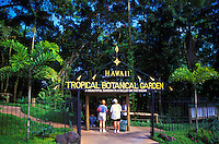 Hawaii Tropical Botanical Gardens, just north of Hilo, Big Island