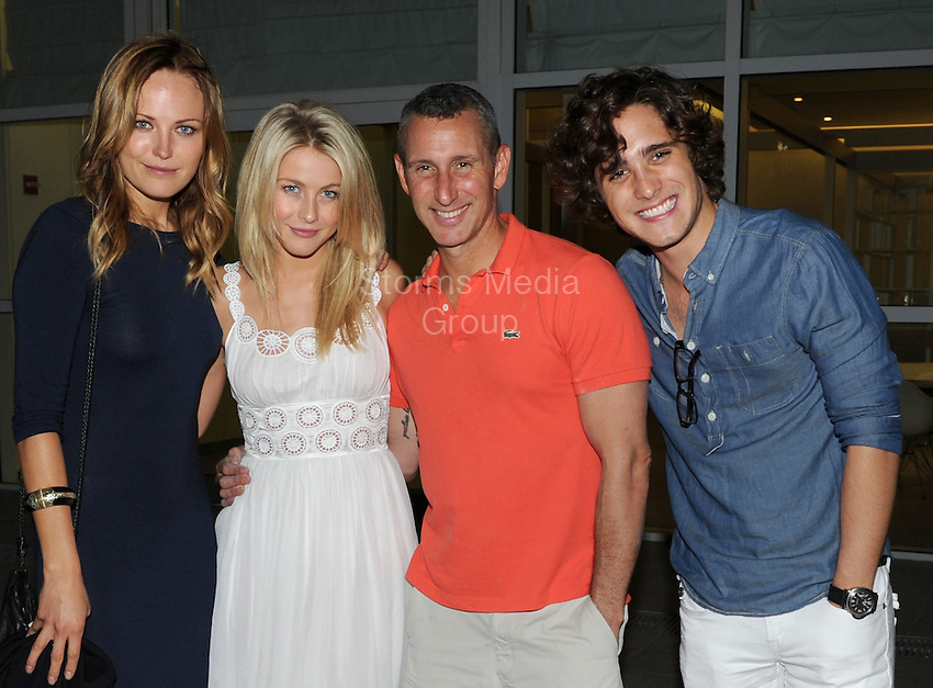 SMG_EXC_Malin Akerman_Julianne Hough_Adam Shankman_Diego Boneta_Birthday_051311_61.JPG_EXCLUSIVE COVERAGE<br /> <br /> MIAMI BEACH, FL - MAY 13: (EXCLUSIVE COVERAGE)  The cast of the movie, Rock of Ages, (now in production in Miami Florida) were all seen together celebrating actress Malin Akerman's birthday at a local restaurant.  Seen here is Director Adam Shankman along with actress Julianne Hough, actor Diego Boneta, and of course the birthday girl actress Malin Akerman . on May 13, 2011 in Miami Beach, Florida.  (Photo By Storms Media Group)<br /> <br /> People:  Malin Akerman_Julianne Hough_Adam Shankman_Diego Boneta<br /> <br /> Must call if interested<br /> Michael Storms<br /> Storms Media Group Inc.<br /> 305-632-3400 - Cell<br /> 305-513-5783 - Fax<br /> MikeStorm@aol.com