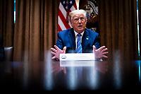 Donald Trump Participates in a Roundtable About Senior Citizens