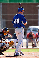 Kyle Orr - Los Angeles Dodgers - 2009 spring training.Photo by:  Bill Mitchell/Four Seam Images