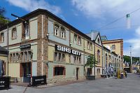 Gastrozentrum  Clausen Rives auf dem Gelände der ehemligen Brauerei Mousel, 2 rue Emile Mousel in Clausen, Stadt Luxemburg, Luxemburg