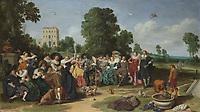 The Fete champetre, Dirck Hals, 1627