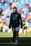 Gareth Bale of Real Madrid prior to the La Liga 2017-18 match between Real Madrid and Deportivo Alaves  at Santiago Bernabeu Stadium on February 24 2018 in Madrid, Spain. Photo by Diego Souto / Power Sport Images