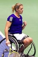 19-12-10, Tennis, Rotterdam, Reaal Tennis Masters 2010,   Esther Vergeer