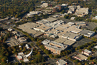 Aerial view of SouthPark Mall in Charlotte, NC.