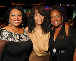 From left: Jackie Phillips, Janette Cosley and Eileen Morris at the Ensemble Theater's annual Black Tie Gala at the Hilton Americas Hotel Saturday Aug. 25, 2012.(Dave Rossman/For the Chronicle)