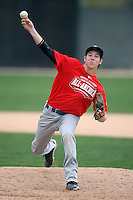 January 17, 2010:  Bobby Shiroky (Henderson, NV) of the Baseball Factory USA Team during the 2010 Under Armour Pre-Season All-America Tournament at Kino Sports Complex in Tucson, AZ.  Photo By Mike Janes/Four Seam Images