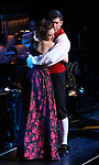 """Laura Osnes and Tony Yazbeck performing during the MCP Production of """"The Scarlet Pimpernel"""" Concert at the David Geffen Hall on February 18, 2019 in New York City."""