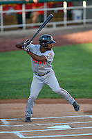 Daniel Sweet (37) of the Billings Mustangs at bat against the Orem Owlz in Pioneer League action at Home of the Owlz on July 25, 2016 in Orem, Utah. Orem defeated Billings 6-5. (Stephen Smith/Four Seam Images)