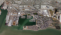 aerial photograph Port of Richmond, California
