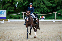 AUS-Sammi Birch rides The Kincooley Ceili during the Dressage for the CCI-S 4*. 2021 GBR-Bicton International Horse Trials. Devon. Great Britain. Thursday 10 June. Copyright Photo: Libby Law Photography