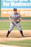 July 18, 2010: Eugene Emeralds third baseman Jedd Gyorko (#3) during a Northwest League game against the Everett AquaSox at Everett Memorial Stadium in Everett, Washington.