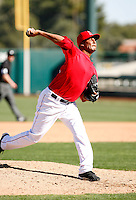 Rafael Rodriguez - Los Angeles Angels - 2009 spring training.Photo by:  Bill Mitchell/Four Seam Images