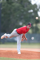Major Posey (67) of North Florida Christian High School in Tallahassee, Florida during the Under Armour Baseball Factory National Showcase, Florida, presented by Baseball Factory on June 13, 2018 the Joe DiMaggio Sports Complex in Clearwater, Florida.  (Nathan Ray/Four Seam Images)