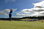 England's Ross Fisher hits his tee shot off the first<br /> <br /> Golf - Day 3 - ISPS Handa Wales Open 2013 - Twenty Ten Course- Saturday 31st August 2013 - Celtic Manor Resort  - Newport<br /> <br /> © www.sportingwales.com- PLEASE CREDIT IAN COOK