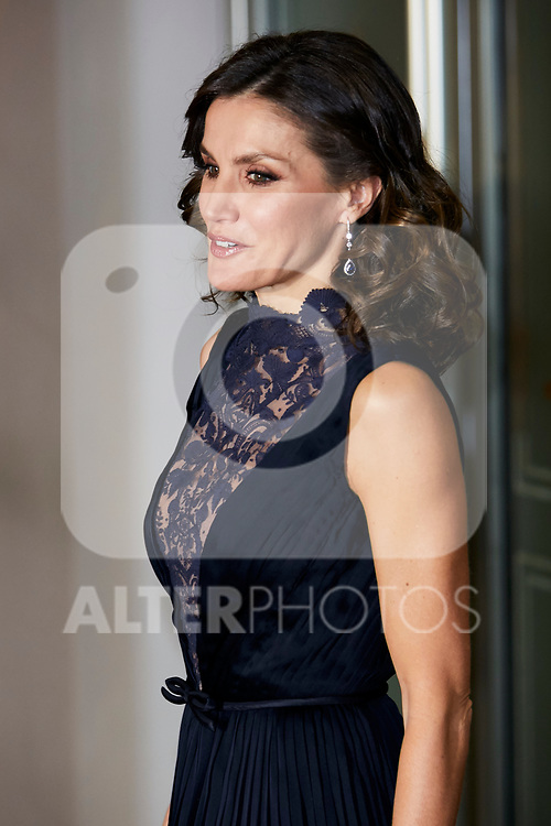Queen Letizia Ortiz of Spain attends to Spanish Constitution 40th Anniversary Concert at National Auditorium of Music in Madrid, Spain. December 05, 2018. (ALTERPHOTOS/A. Perez Meca)
