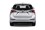 Straight rear view of a 2020 Buick Envision Preferred FWD 5 Door SUV stock images