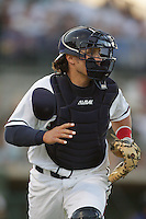 April 17, 2010: Jordan Comadena of the Lancaster JetHawks during game against the Rancho Cucamonga Quakes at Clear Channel Stadium in Lancaster,CA.  Photo by Larry Goren/Four Seam Images