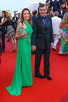 Philippe Douste-Blazy, sur le tapis rouge pour la projection du film D APRES UNE HISTOIRE VRAIE, hors competition lors du soixante-dixième (70ème) Festival du Film à Cannes, Palais des Festivals et des Congres, Cannes, Sud de la France, samedi 27 mai 2017.