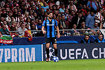 Club Brugge's Benoit Poulain during UEFA Champions League match between Atletico de Madrid and Club Brugge at Wanda Metropolitano Stadium in Madrid, Spain. October 03, 2018. (ALTERPHOTOS/A. Perez Meca)