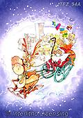 Fabrizio, Comics, CHRISTMAS SANTA, SNOWMAN, WEIHNACHTSMÄNNER, SCHNEEMÄNNER, PAPÁ NOEL, MUÑECOS DE NIEVE, paintings+++++,ITFZ94A,#x#