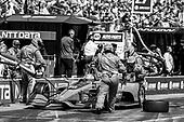 2018 Verizon IndyCar Series - Firestone Grand Prix of St. Petersburg<br /> St. Petersburg, FL USA<br /> Sunday 11 March 2018<br /> Ed Jones, Chip Ganassi Racing Honda, pit stop<br /> World Copyright: Michael L. Levitt<br /> LAT Images<br /> ref: Digital Image _01I5203
