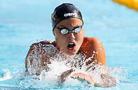 Trofeo Settecolli di nuoto al Foro Italico, Roma, 14 giugno 2013.<br /> Zsuzsanna Jakabos, of Hungaria, competes in the women's  400 meters medley at the Sevenhills swimming trophy in Rome, 14 June 2013.<br /> UPDATE IMAGES PRESS/Isabella Bonotto