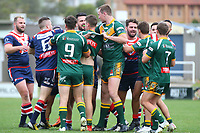 The Wyong Roos play Erina Eagles in Round 9 of the Reserve Grade Central Coast Rugby League Division at Morry Breen Oval on 16th of June, 2019 in Kanwal, NSW Australia. (Photo by Giselle Barkley/LookPro)