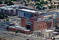 aerial photograph of Presbyterian Hospital, Albuquerque, New Mexico