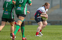 Saturday 20th April 2019   2019 Ulster Women's Junior Cup Final<br /> <br /> Sarah Murphy during the Ulster Women's Junior Cup final between Malone and City Of Derry at Kingspan Stadium, Ravenhill Park, Belfast. Northern Ireland. Photo John Dickson/Dicksondigital
