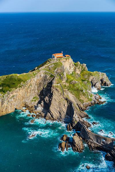 San Juan de Gaztelugatxe. Bermeo. Coast of Biscay. Urdaibai Region. Bizkaia. Pais Vasco. Basque Country. Spain.