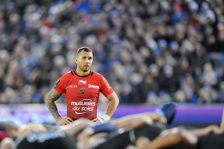 Quade Cooper of RC Toulon during the European Rugby Champions Cup match between Bath Rugby and RC Toulon - 23/01/2016 - The Recreation Ground, Bath Mandatory Credit: Rob Munro/Stewart Communications