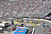 2017 Monster Energy NASCAR Cup Series<br /> STP 500<br /> Martinsville Speedway, Martinsville, VA USA<br /> Sunday 2 April 2017<br /> Kyle Busch, M&M's Toyota Camry and Chase Elliott<br /> World Copyright: Nigel Kinrade/LAT Images<br /> ref: Digital Image 17MART1nk07057