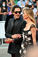 CANNES, FRANCE. July 12, 2021: Adrien Brody & Georgina Chapman at the gala premiere of Wes Anderson's The French Despatch at the 74th Festival de Cannes.<br /> Picture: Paul Smith / Featureflash