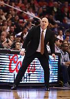 Mar 18, 2019; Phoenix, AZ, USA; Chicago Bulls head coach Jim Boylen against the Phoenix Suns at Talking Stick Resort Arena. Mandatory Credit: Mark J. Rebilas-USA TODAY Sports